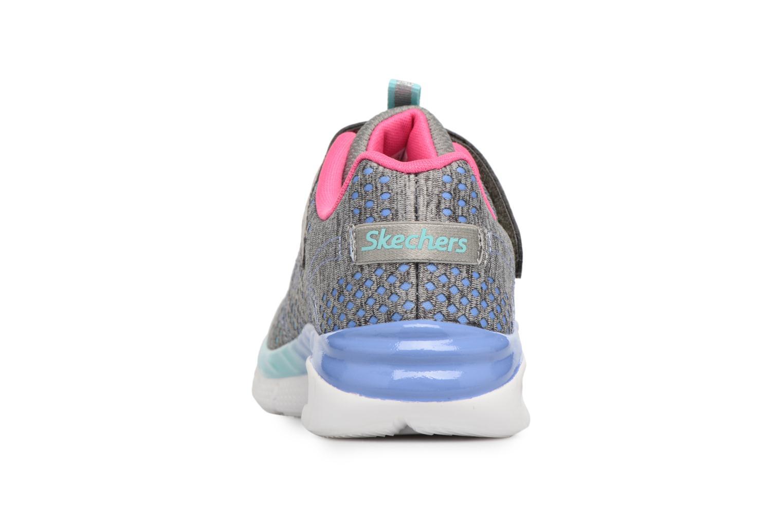 Baskets Skechers Air Appeal Crazy Crush 2 Gris vue droite