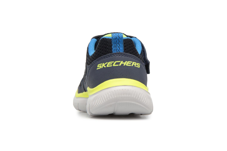 Sportschuhe Skechers Flex Advantage 2.0 E schwarz ansicht von rechts