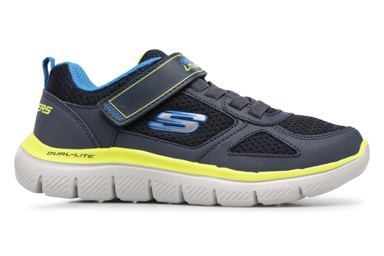 Sportschuhe Skechers Flex Advantage 2.0 E schwarz ansicht von hinten