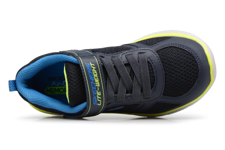 Sportschuhe Skechers Flex Advantage 2.0 E schwarz ansicht von links