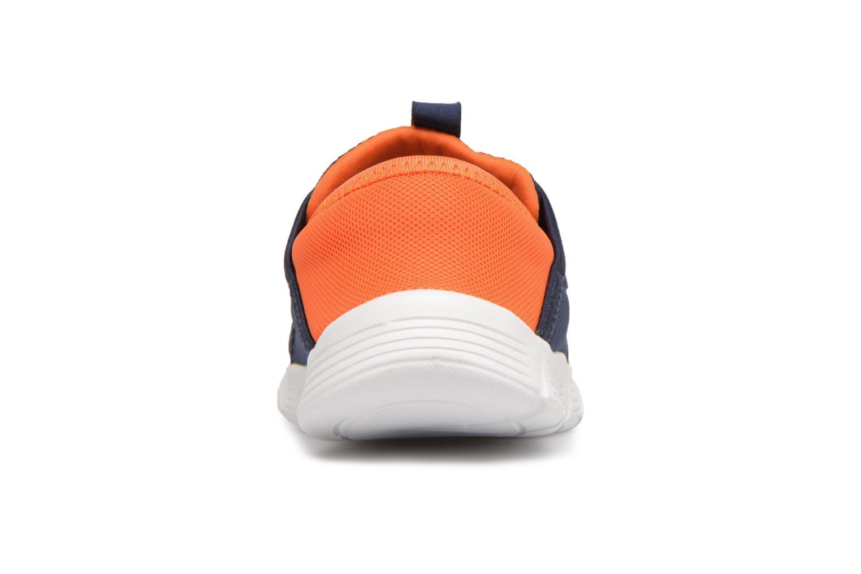 Sneakers Skechers Comfy Flex Azzurro immagine destra