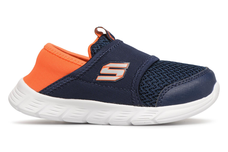Sneakers Skechers Comfy Flex Azzurro immagine posteriore