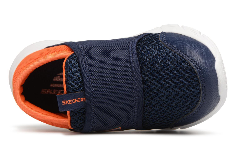 Sneakers Skechers Comfy Flex Azzurro immagine sinistra