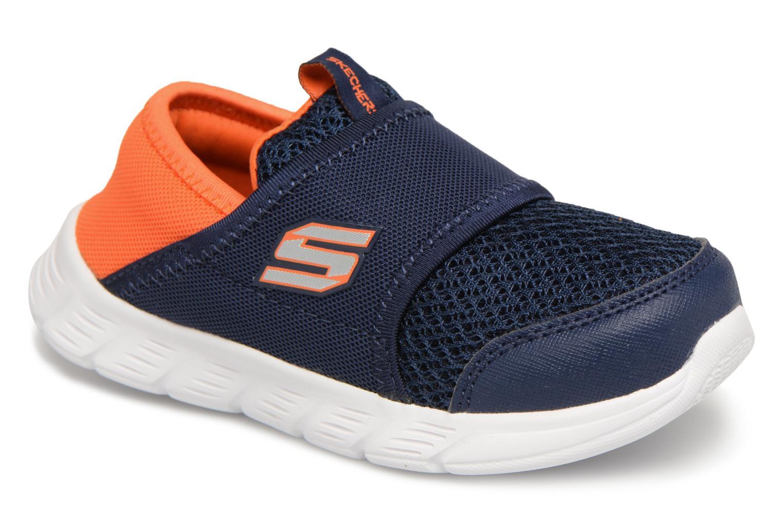 Sneakers Skechers Comfy Flex Azzurro vedi dettaglio/paio