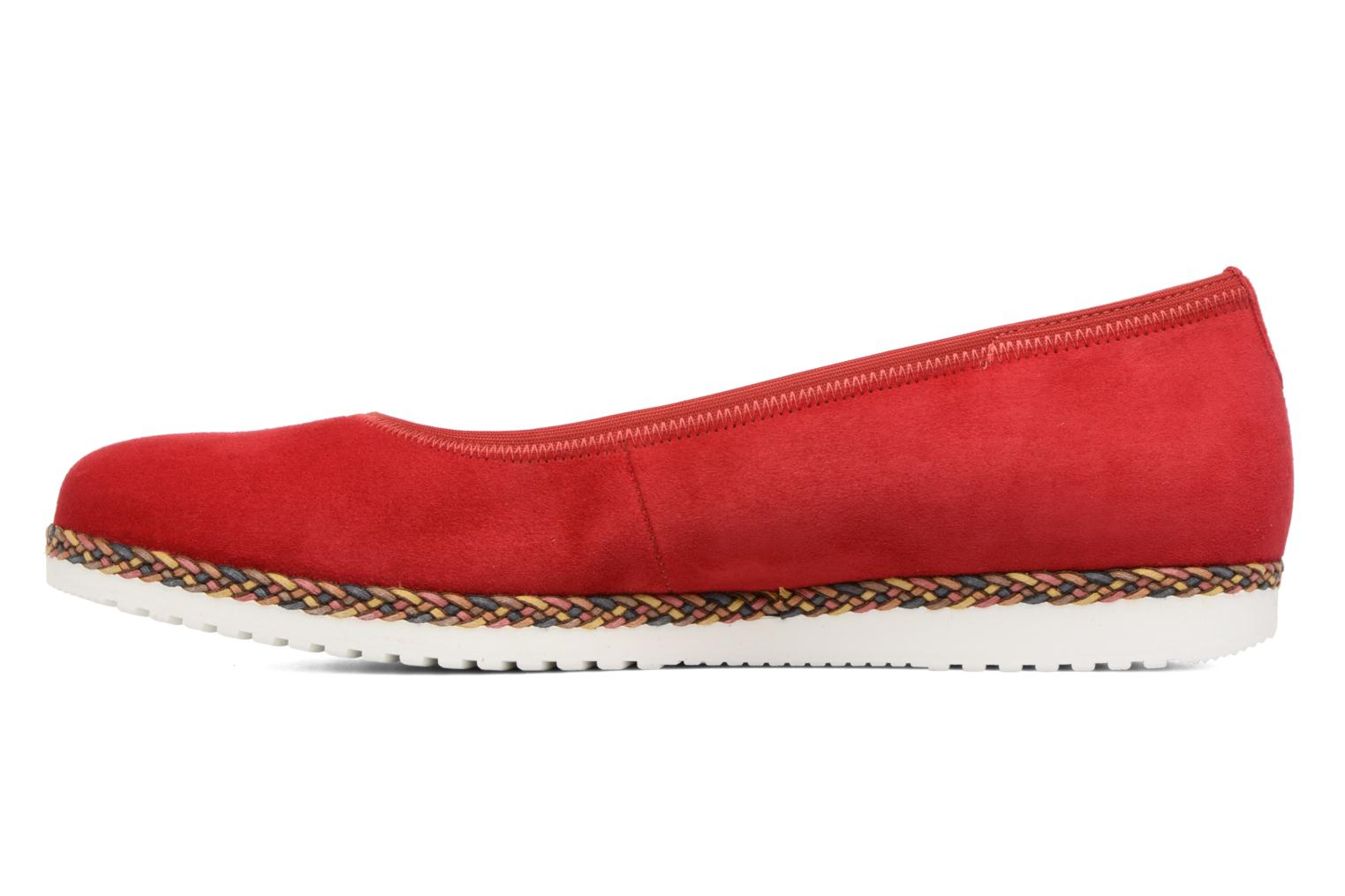 Ballet pumps Gabor Catania Red front view