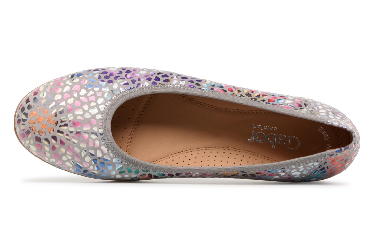 Ballet pumps Gabor Barletta Multicolor view from the left