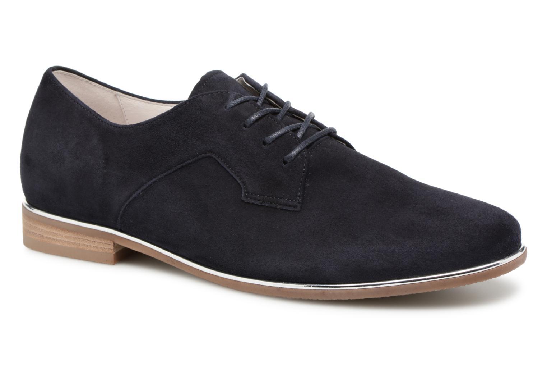 Chaussures à lacets Gabor Arabella Bleu vue détail/paire