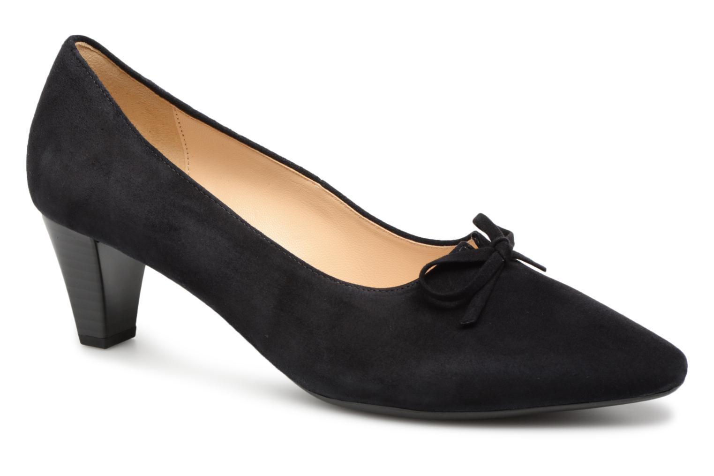 High heels Gabor Valeria Black detailed view/ Pair view
