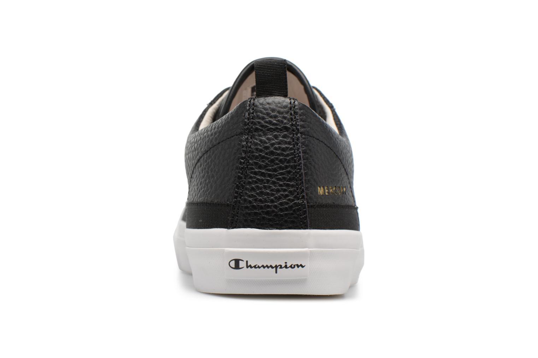 Sneakers Champion Low Cut Shoe MERCURY LOW LEATHER Zwart rechts