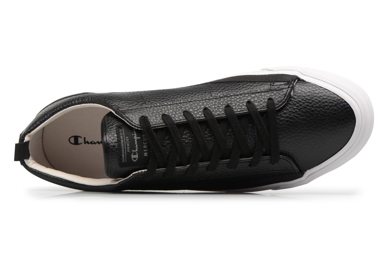 Baskets Champion Low Cut Shoe MERCURY LOW LEATHER Noir vue gauche