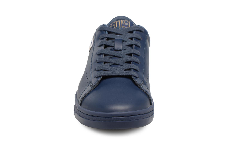 Sneaker Champion Low Cut Shoe 919 LOW PATCH LEATHER blau schuhe getragen