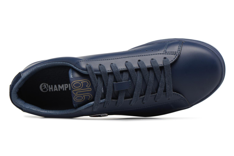 Baskets Champion Low Cut Shoe 919 LOW PATCH LEATHER Bleu vue gauche