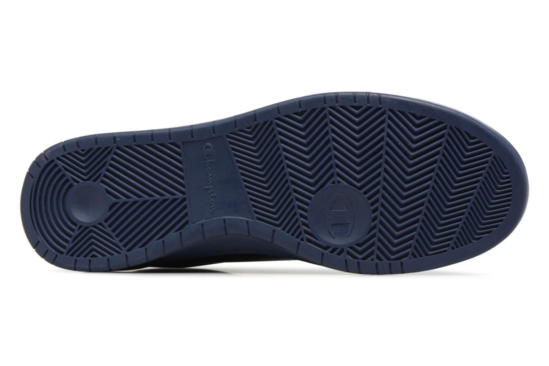 Sneaker Champion Low Cut Shoe 919 LOW PATCH LEATHER blau ansicht von oben