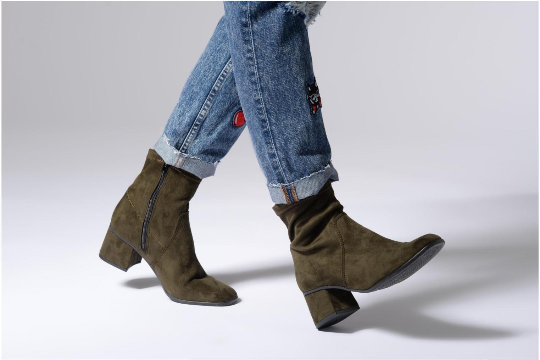Bottines et boots Tamaris 25345 Vert vue bas / vue portée sac