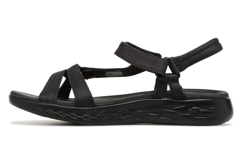 Sandaler Skechers On-The-Go 600-Brilliancy Sort se forfra