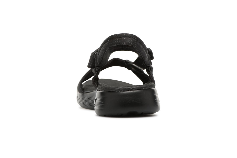 Sandaler Skechers On-The-Go 600-Brilliancy Sort Se fra højre