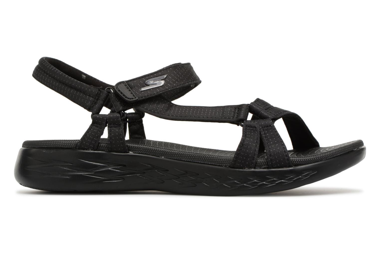 Sandaler Skechers On-The-Go 600-Brilliancy Sort se bagfra