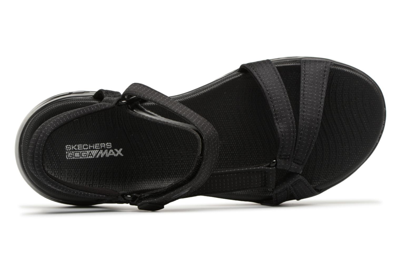 Sandaler Skechers On-The-Go 600-Brilliancy Sort se fra venstre