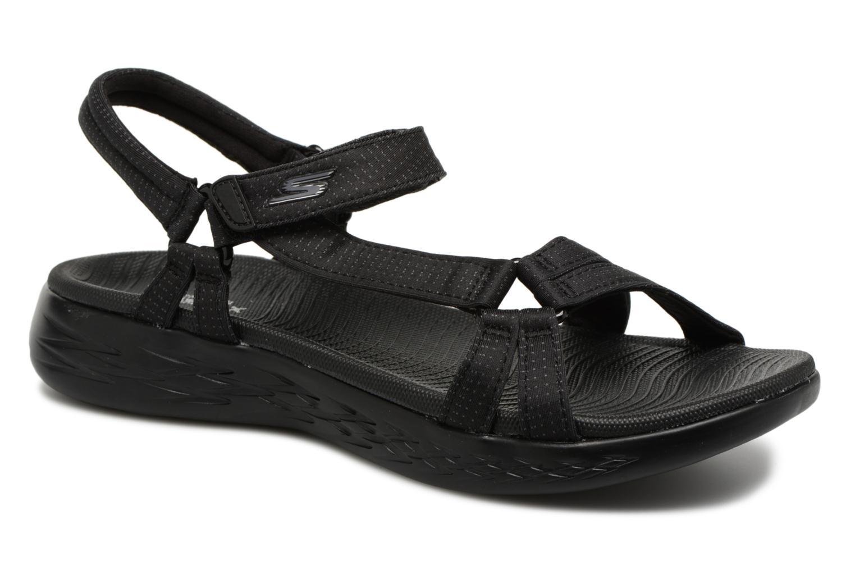 Sandaler Skechers On-The-Go 600-Brilliancy Sort detaljeret billede af skoene