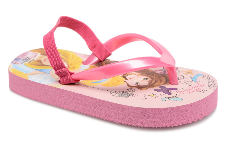 Tongs Disney Princess Taco Rose vue détail/paire