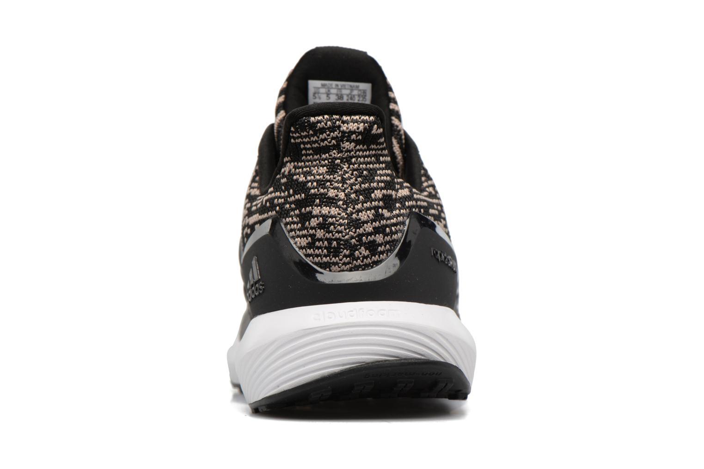 Sportschoenen Adidas Performance Rapidarun KNIT J Zwart rechts