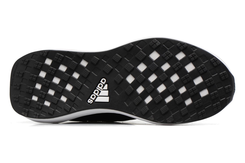 Sportschoenen Adidas Performance Rapidarun KNIT J Zwart boven