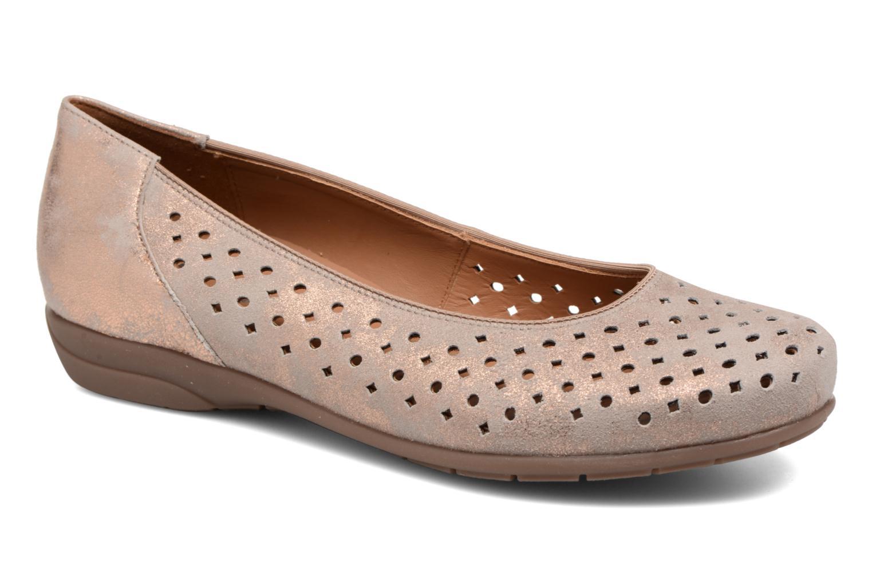 Grandes descuentos últimos zapatos Ara Stanford 33367 (Oro y bronce) - Bailarinas Descuento