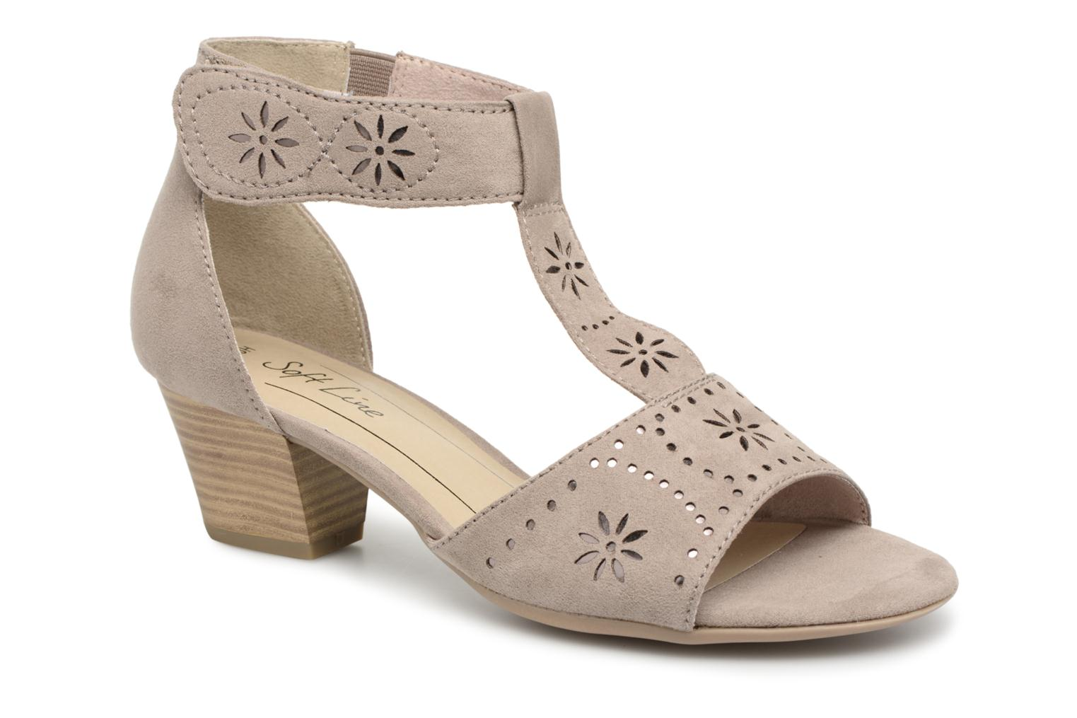 Carletta - Sandales Pour Femmes / Chaussures Beige Jana SExAH
