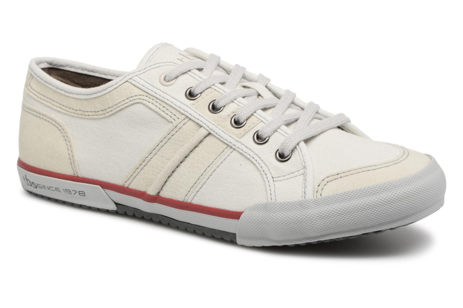 Trainers TBS Edgard--S8097 White detailed view/ Pair view