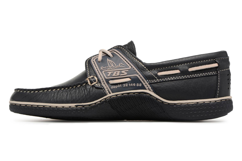 Chaussures à lacets TBS Globek--B8D12 Bleu vue face