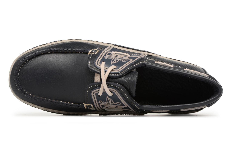 Chaussures à lacets TBS Globek--B8D12 Bleu vue gauche