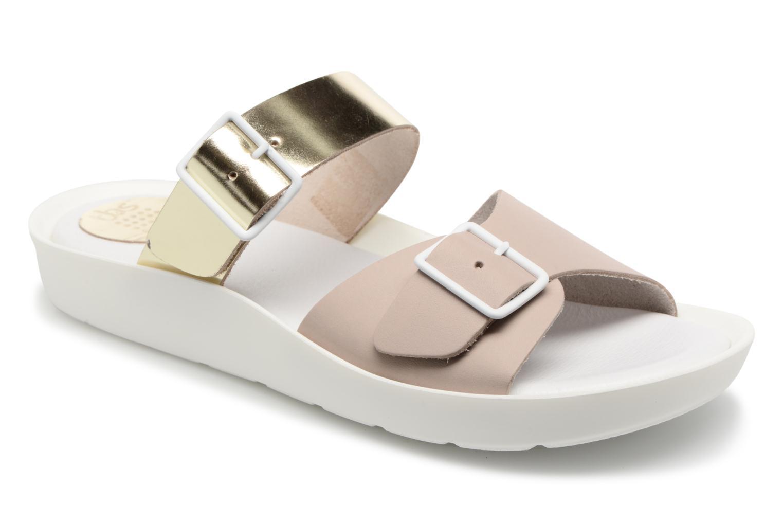 Zapatos casuales salvajes TBS Nenufar-A7B83 (Oro y bronce) - Zuecos en Más cómodo