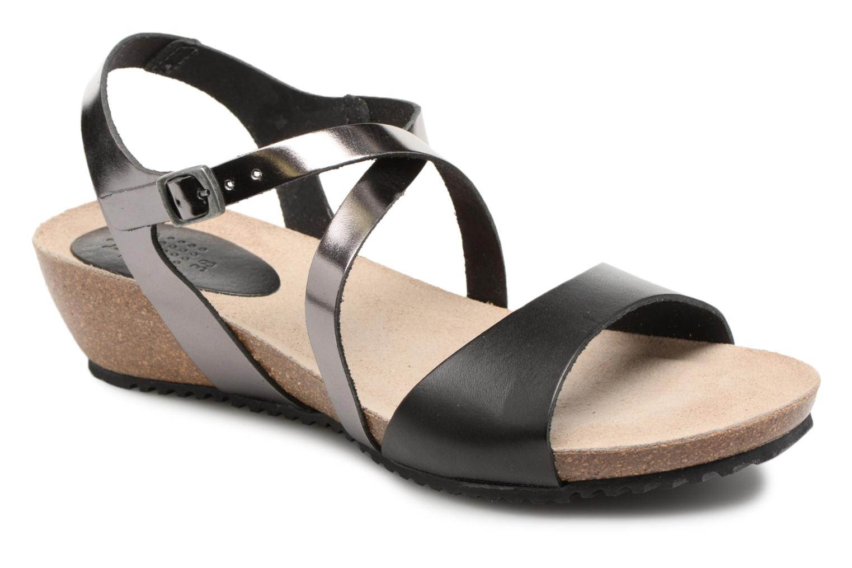 Los zapatos más populares para hombres y mujeres TBS Stefany-C7D34 (Negro) - Sandalias en Más cómodo
