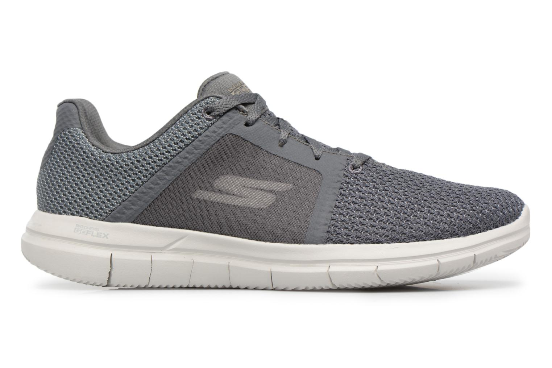 Sneakers Skechers Go Flex 2- Grå se bagfra