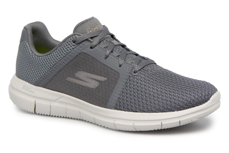 Sneakers Skechers Go Flex 2- Grå detaljeret billede af skoene