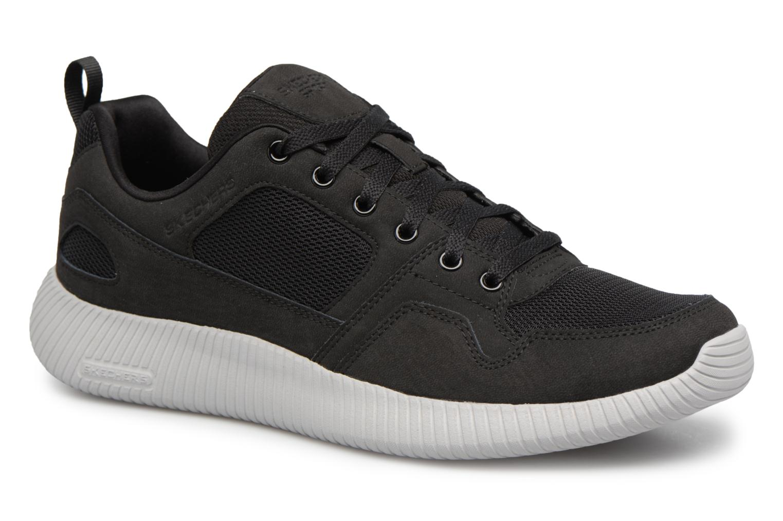 Marques Chaussure homme Skechers homme Depth Charcoalge-Eaddy Black