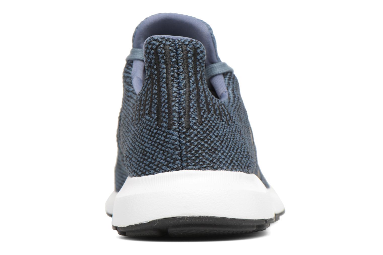 Sneakers Adidas Originals Swift Run J Blå Bild från höger sidan