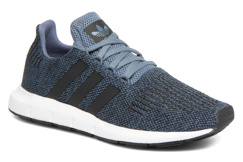 Sneakers Adidas Originals Swift Run J Blå detaljerad bild på paret