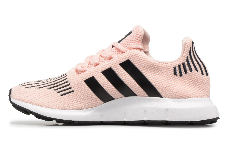 Sneakers Adidas Originals Swift Run J Rosa immagine frontale