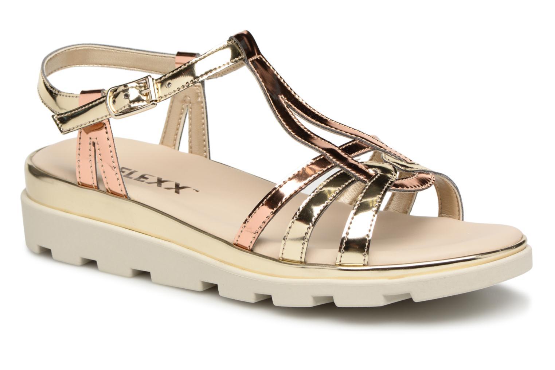 The Flexx Amelia (Or et bronze) - Sandales et nu-pieds chez Sarenza (322636)