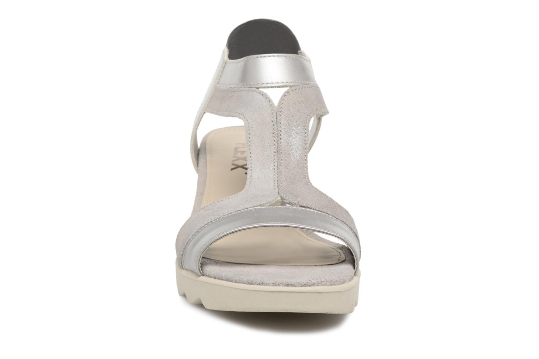 Sandales et nu-pieds The Flexx Little Tony Argent vue portées chaussures