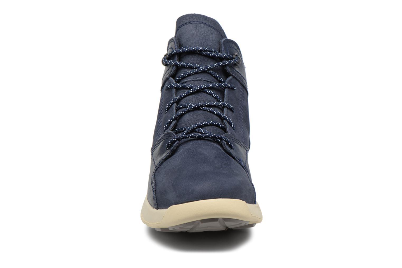 Sneaker Timberland FlyRoam Leather Hiker blau schuhe getragen