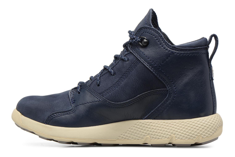 Sneaker Timberland FlyRoam Leather Hiker blau ansicht von vorne