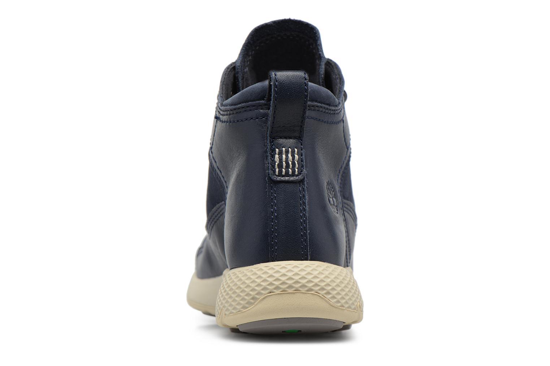 Sneaker Timberland FlyRoam Leather Hiker blau ansicht von rechts