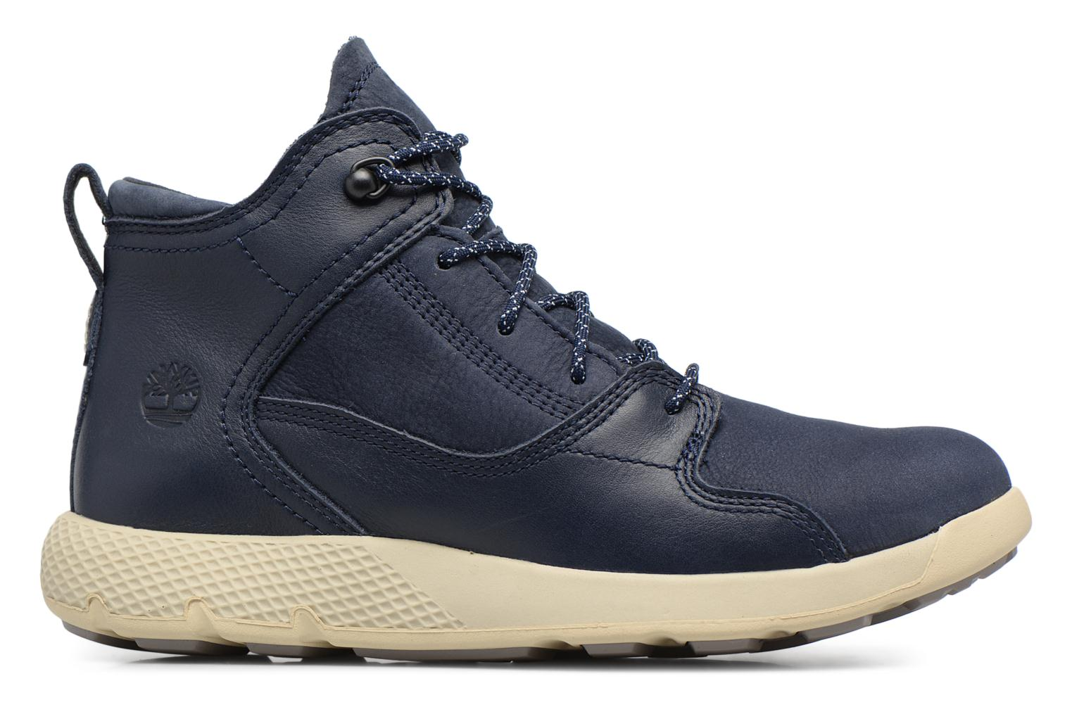 Baskets Timberland FlyRoam Leather Hiker Bleu vue derrière