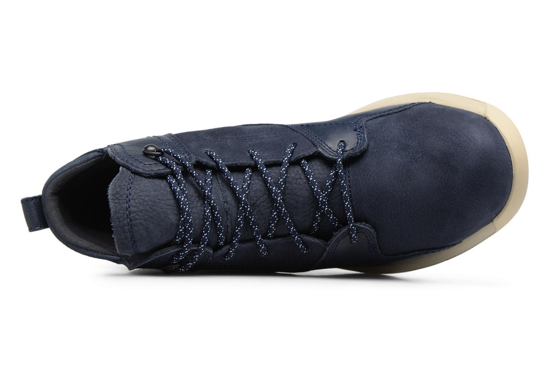 Sneaker Timberland FlyRoam Leather Hiker blau ansicht von links