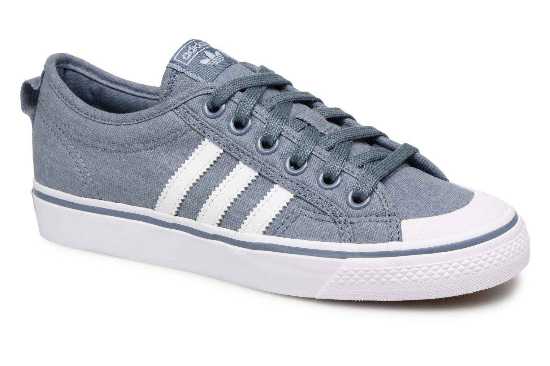 Grandes descuentos últimos zapatos Adidas Originals NIZZA W (Azul) - Deportivas Descuento