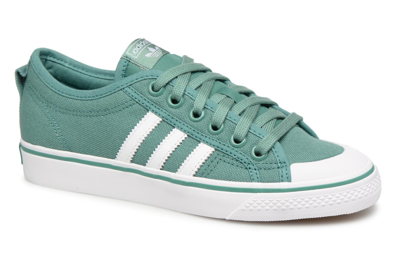 Zapatos promocionales Adidas Originals NIZZA W (Verde) - Deportivas   Venta de liquidación de temporada
