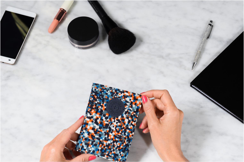 Portemonnaies & Clutches kipling PASS PORT mehrfarbig ansicht von oben