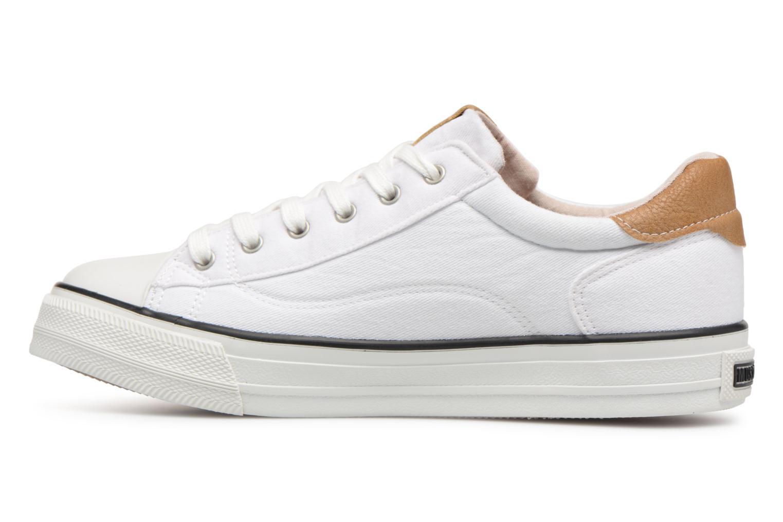 Baskets Mustang shoes Fanchi Blanc vue face